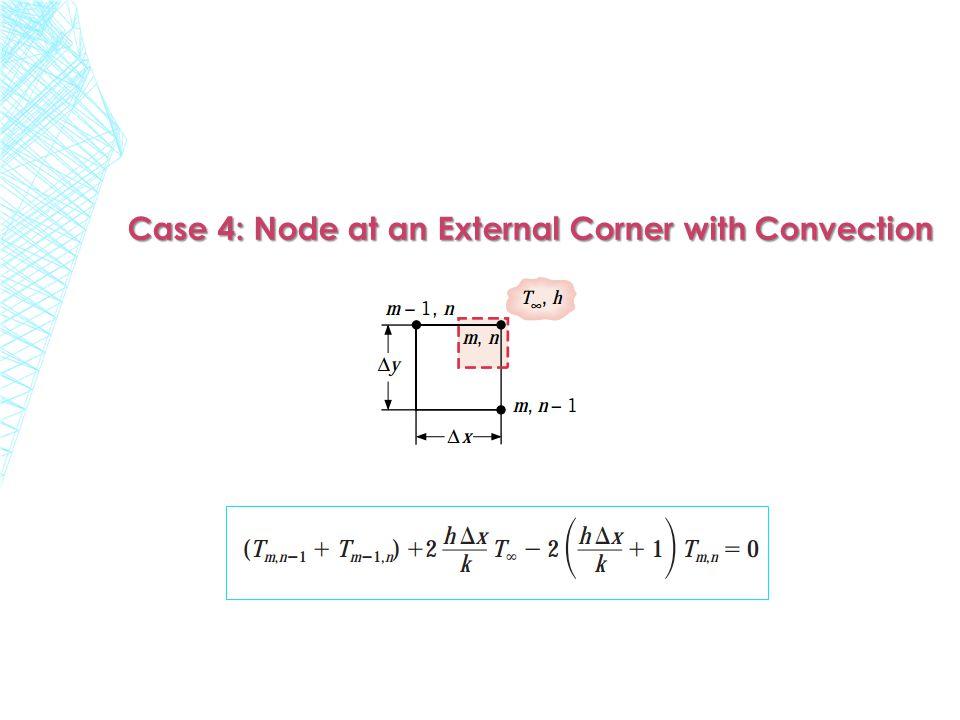 Case 4: Node at an External Corner with Convection