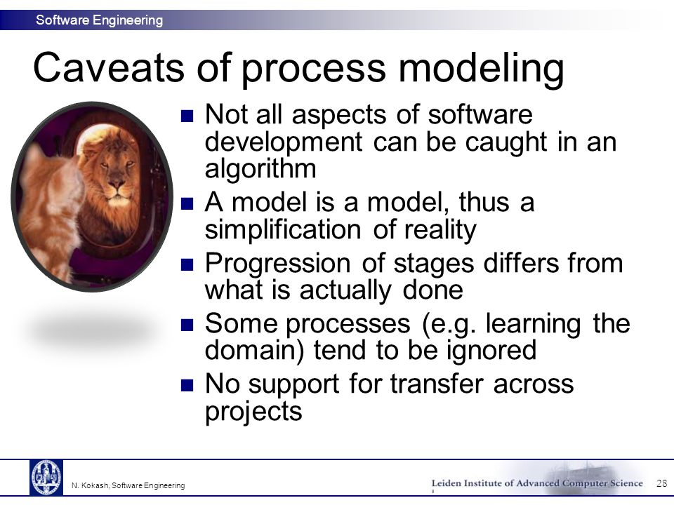 Caveats of process modeling