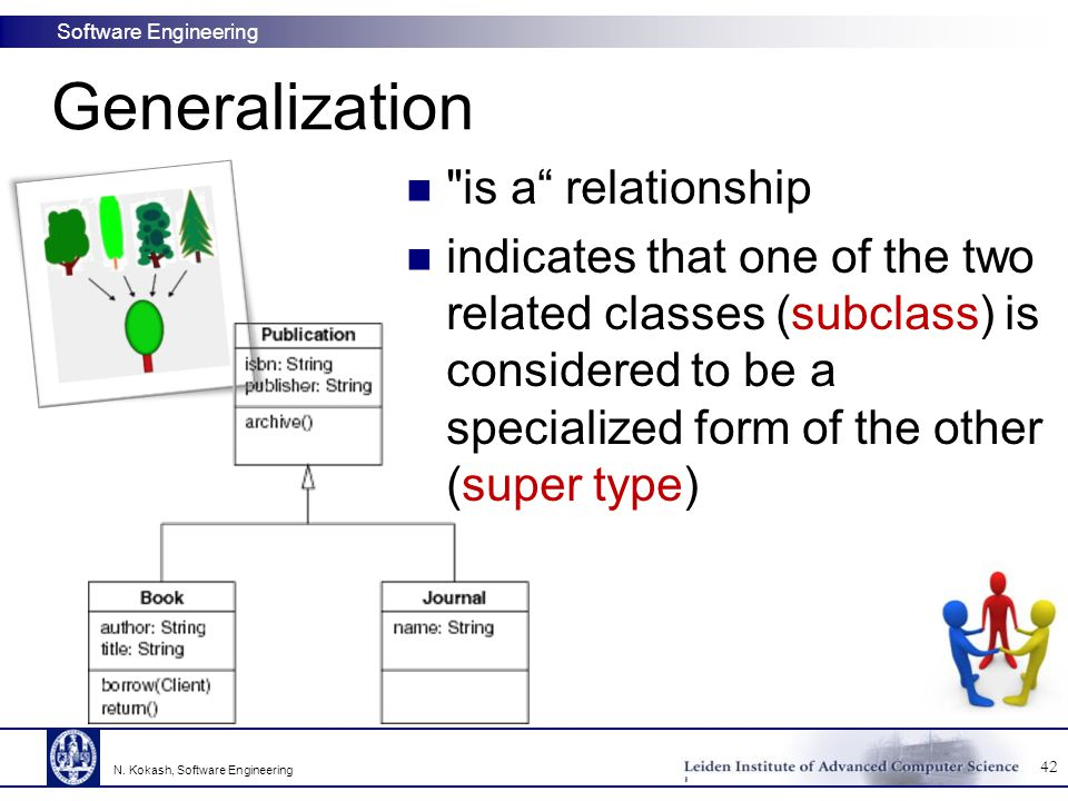 Generalization is a relationship