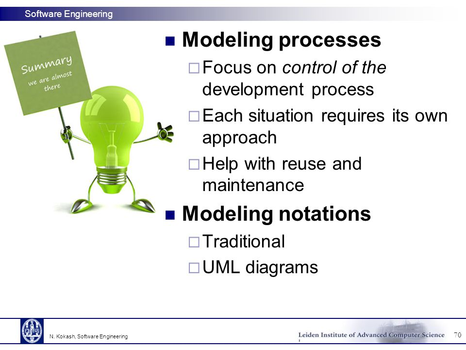 Modeling processes Modeling notations