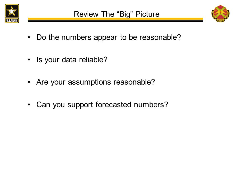 Review The Big Picture