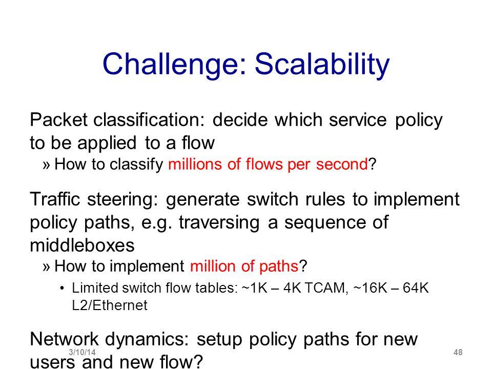 Challenge: Scalability