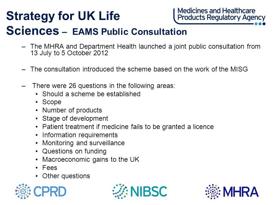Sciences – EAMS Public Consultation