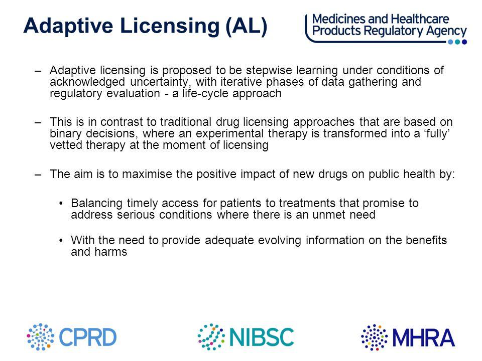 Adaptive Licensing (AL)