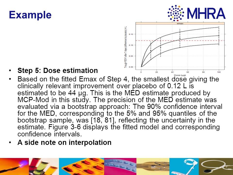 Example Step 5: Dose estimation
