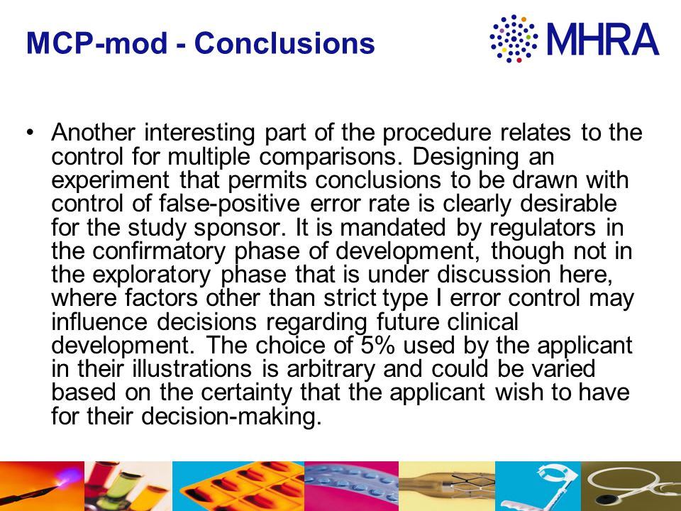 MCP-mod - Conclusions