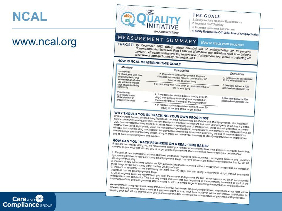 NCAL www.ncal.org