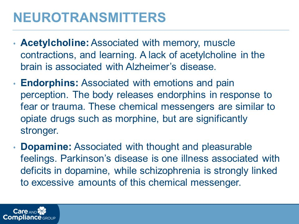 Neurotransmitters