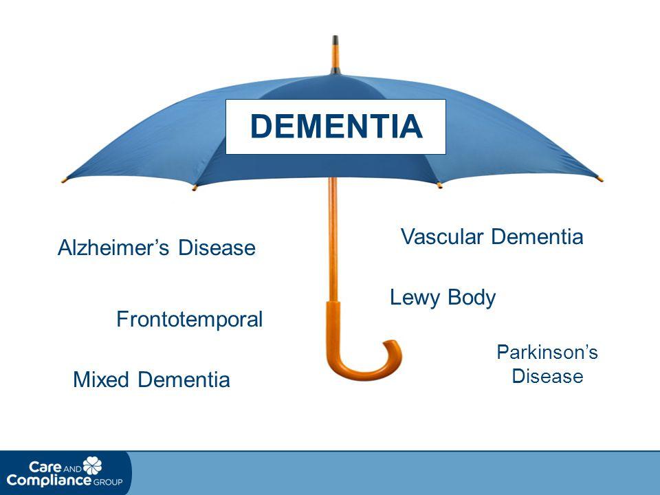 DEMENTIA Vascular Dementia Alzheimer's Disease Lewy Body