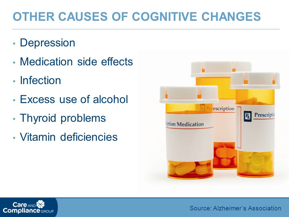 Other Causes of Cognitive Changes