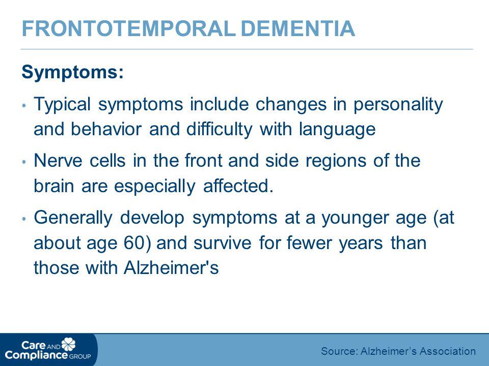 Frontotemporal Dementia