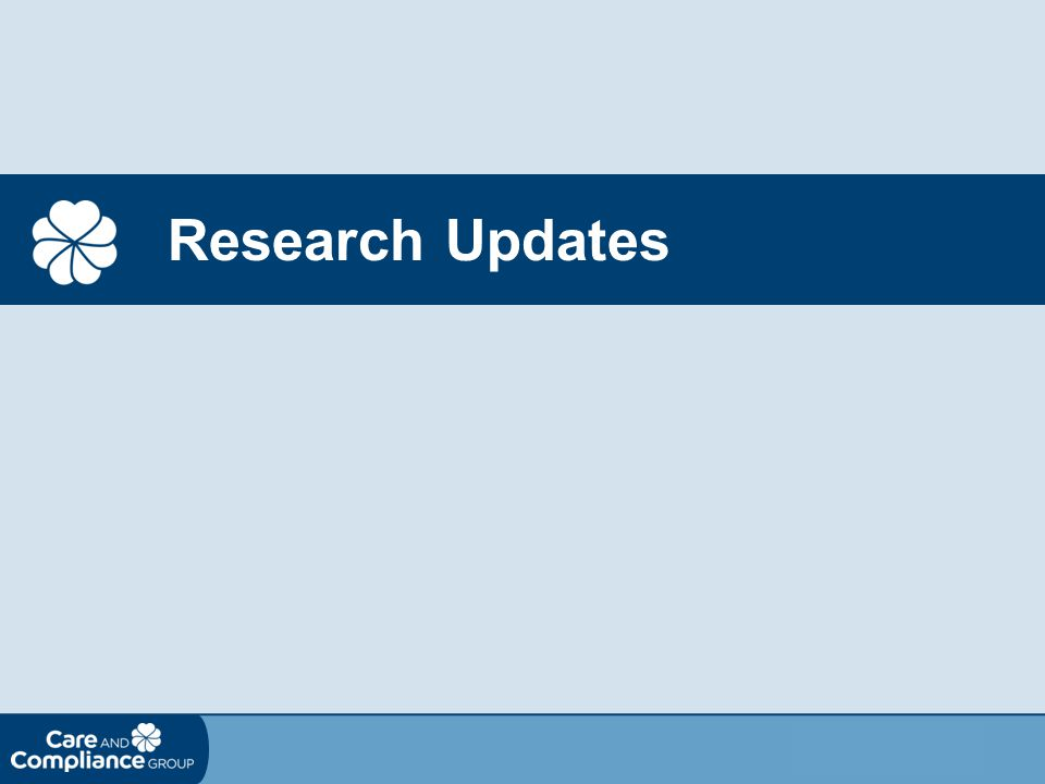 Research Updates