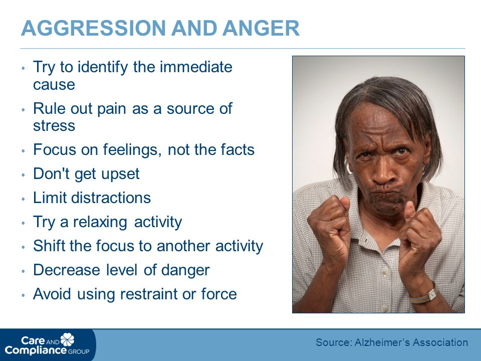 Aggression and Anger Try to identify the immediate cause
