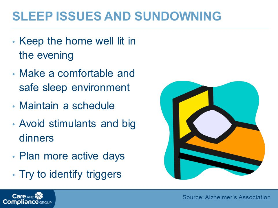Sleep Issues and Sundowning