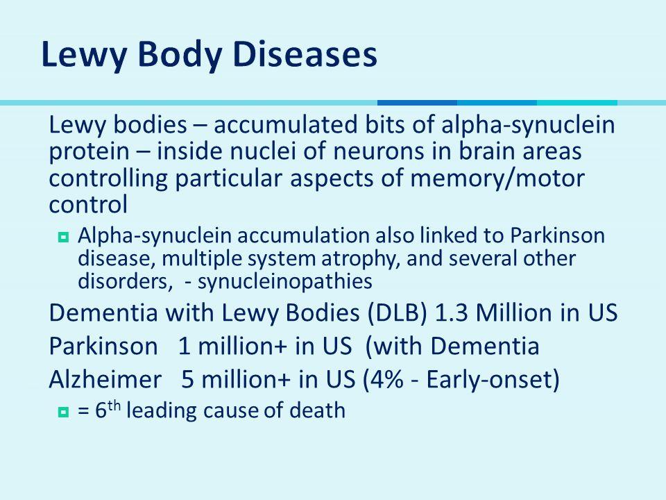 Lewy Body Diseases