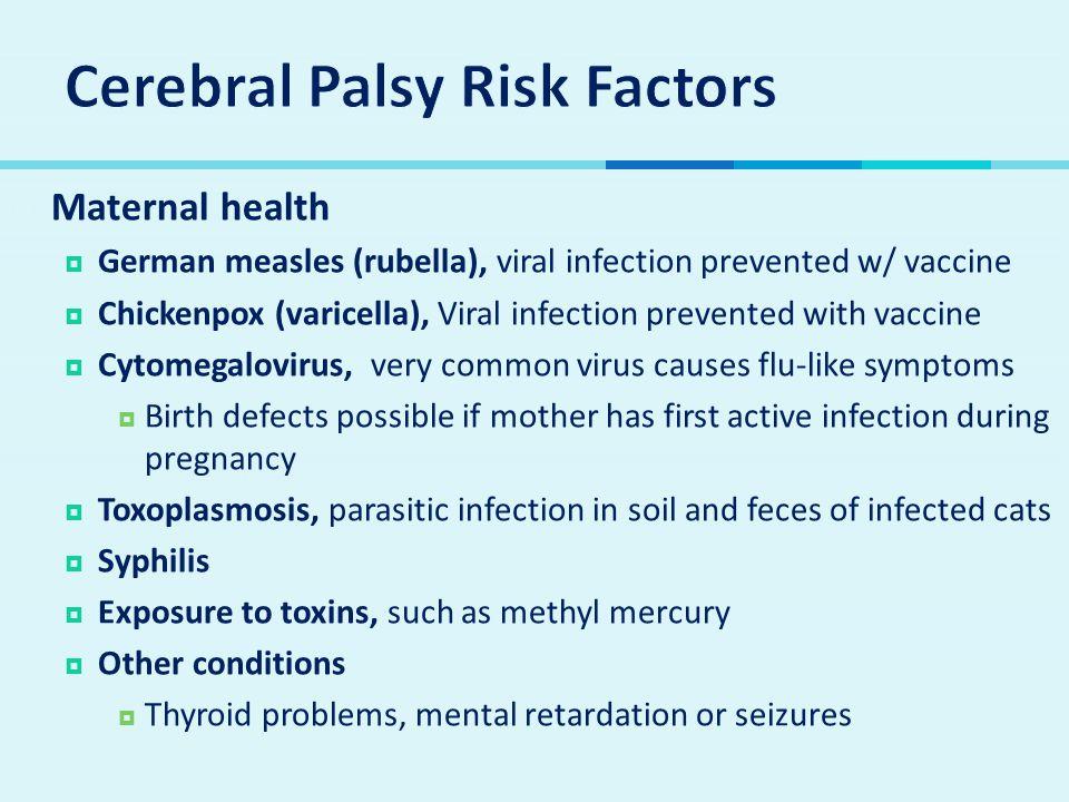 Cerebral Palsy Risk Factors