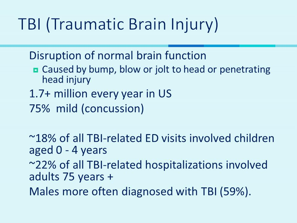 TBI (Traumatic Brain Injury)