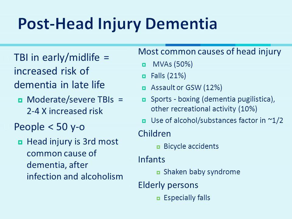 Post-Head Injury Dementia