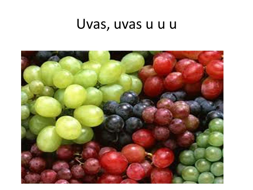 Uvas, uvas u u u
