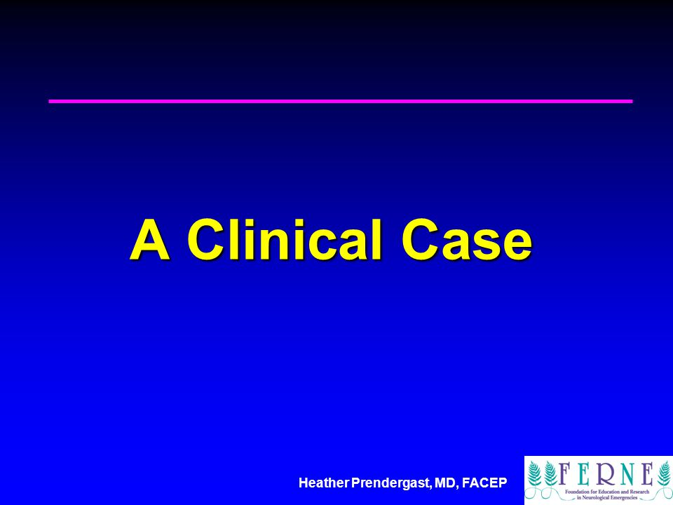 A Clinical Case