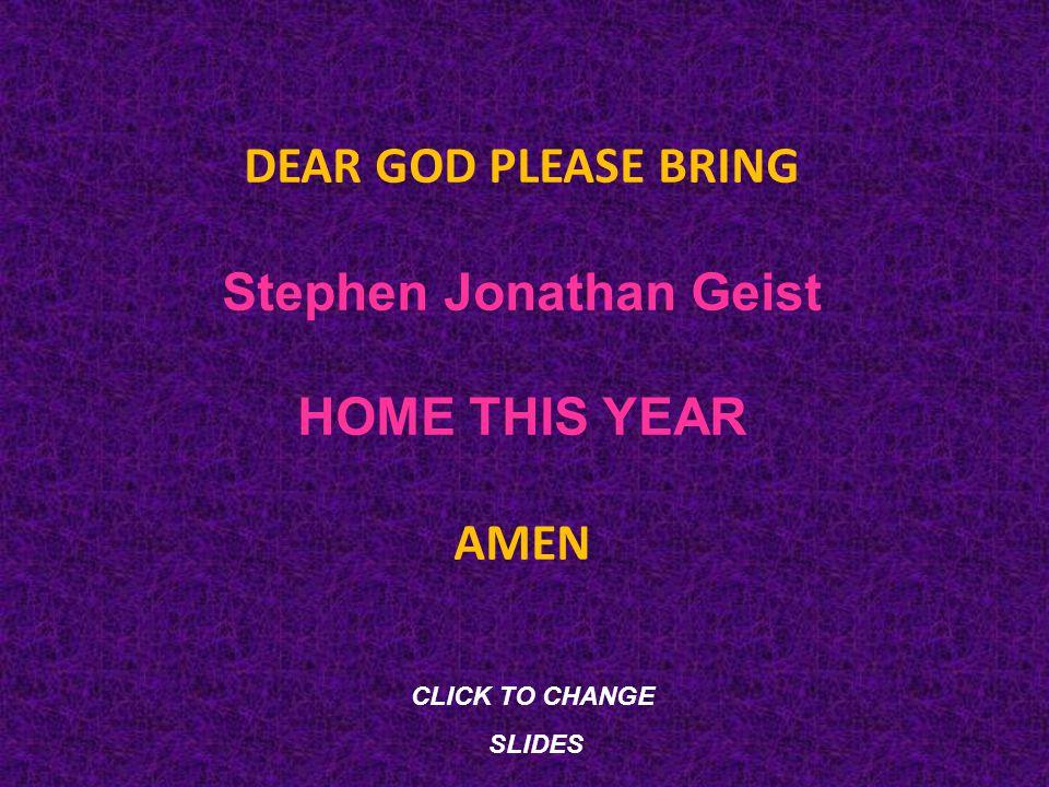 Stephen Jonathan Geist