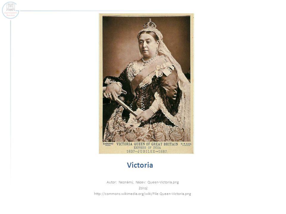 Autor: Neznámý, Název: Queen-Victoria.png