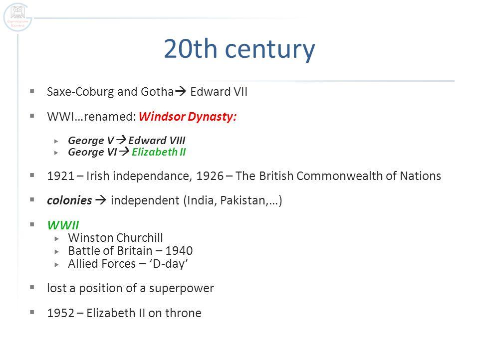 20th century Saxe-Coburg and Gotha Edward VII