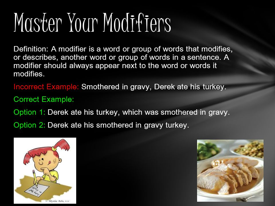 Master Your Modifiers