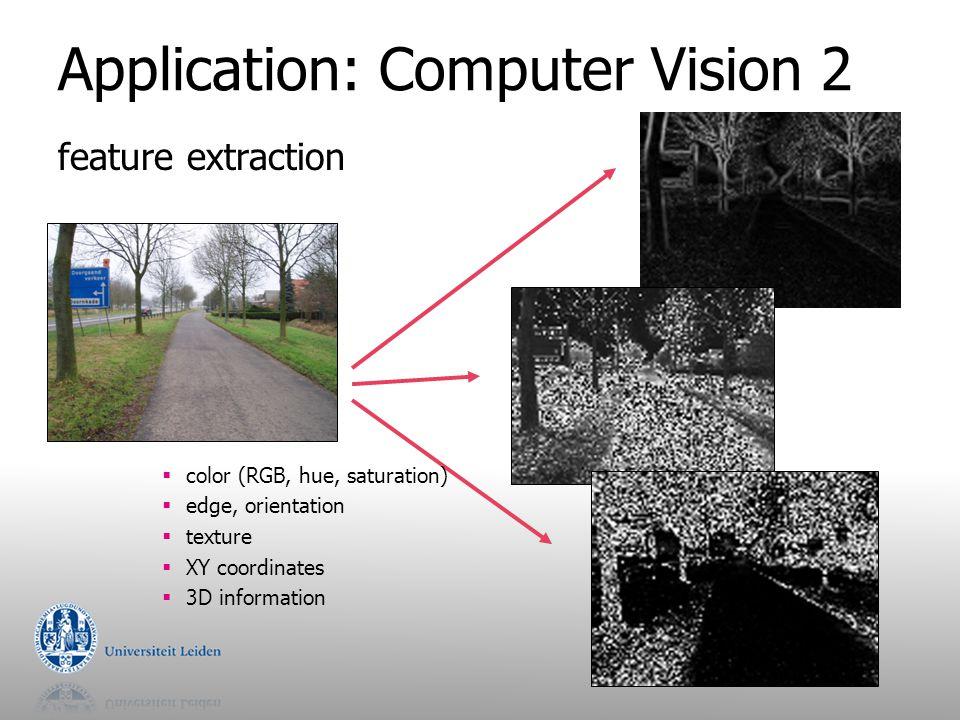 Application: Computer Vision 2