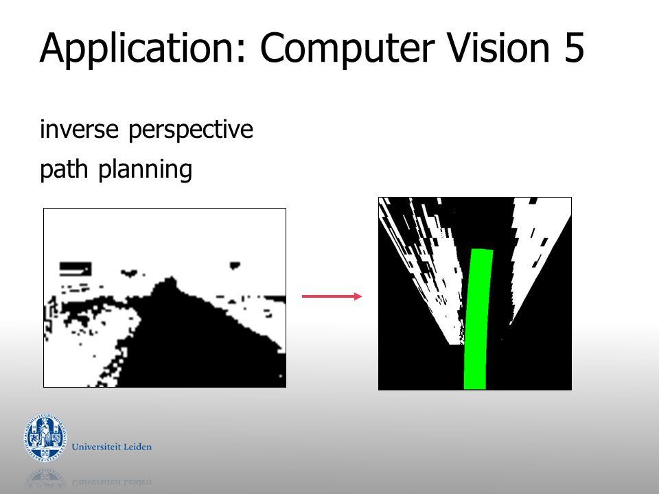 Application: Computer Vision 5