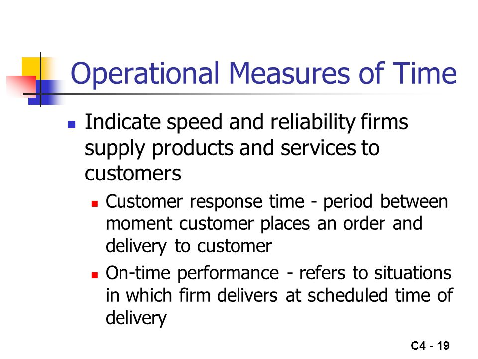 Operational Measures of Time