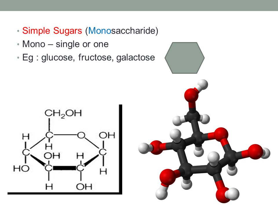 Simple Sugars (Monosaccharide)