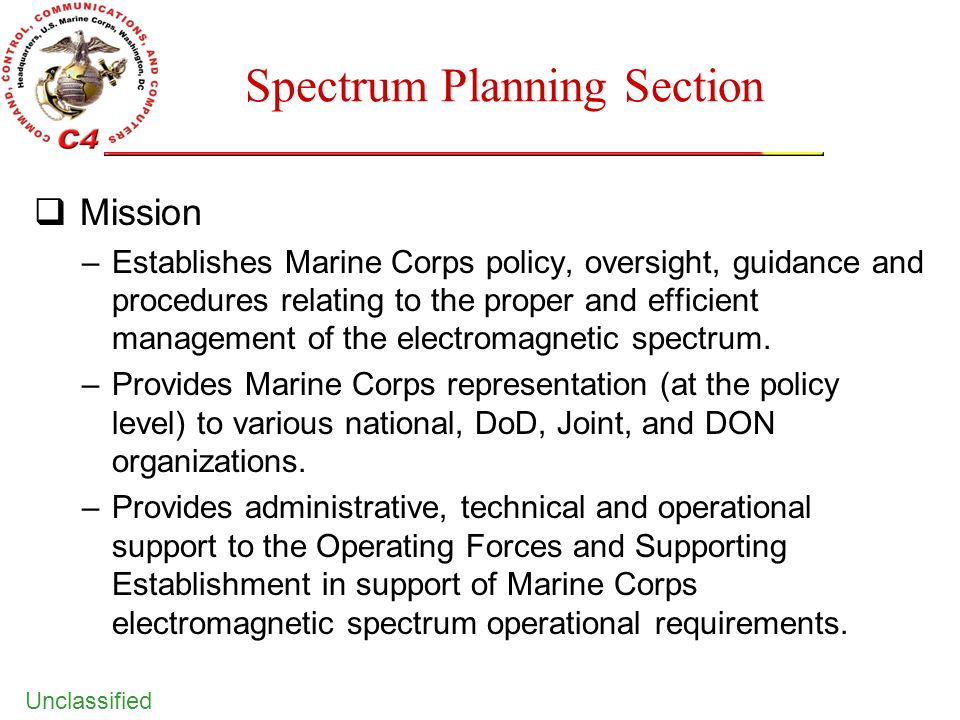 Spectrum Planning Section