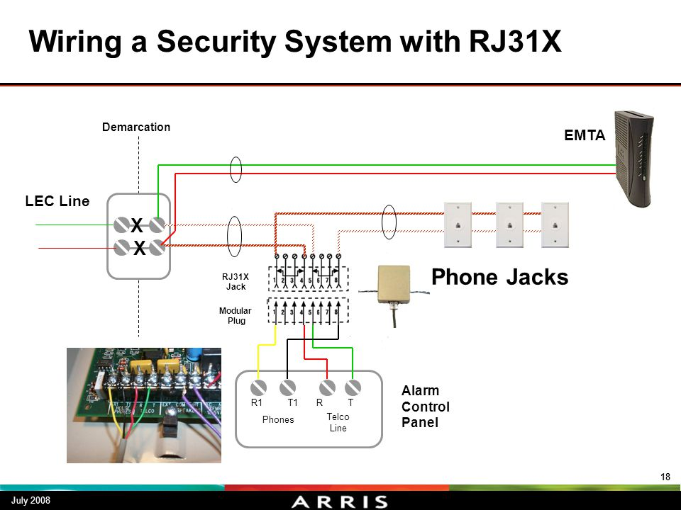 wiring rj31x jack line seizure telephony troubleshooting in the home - ppt video online ... #6