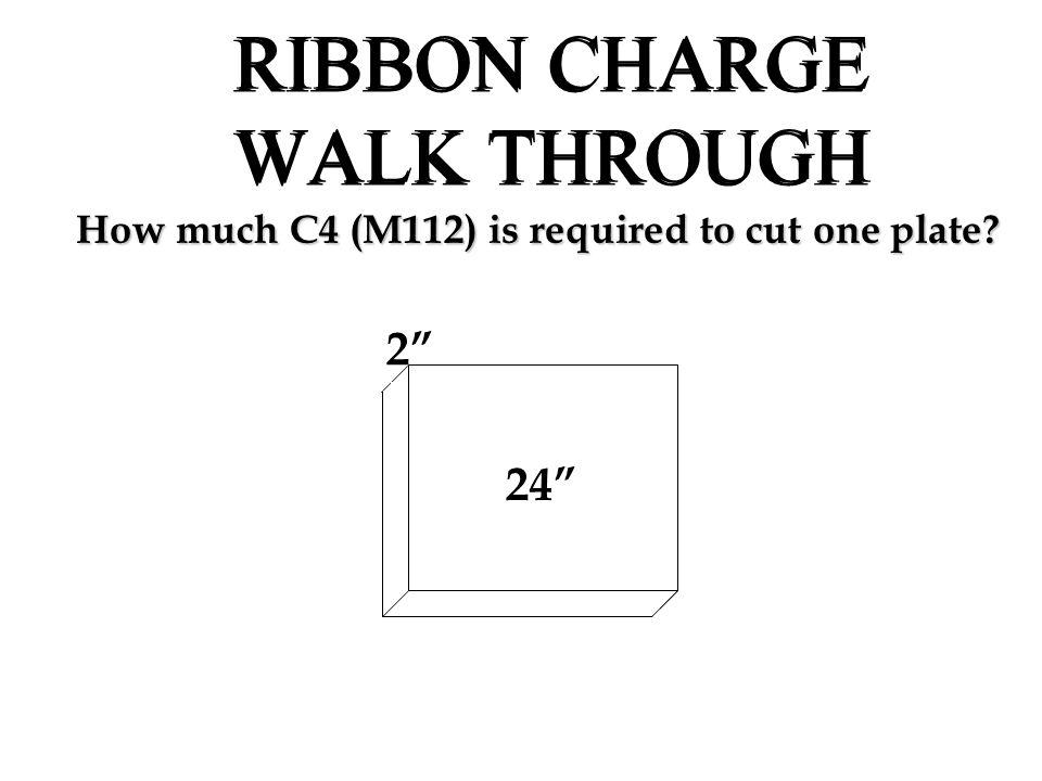 RIBBON CHARGE WALK THROUGH