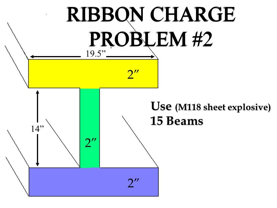 RIBBON CHARGE PROBLEM #2