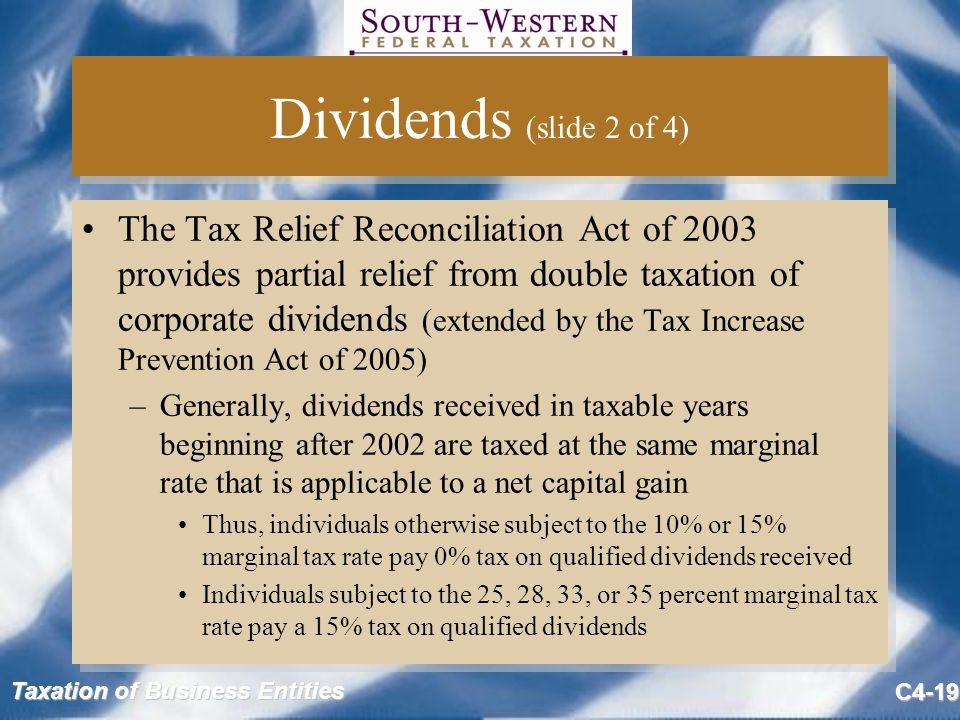 Dividends (slide 2 of 4)