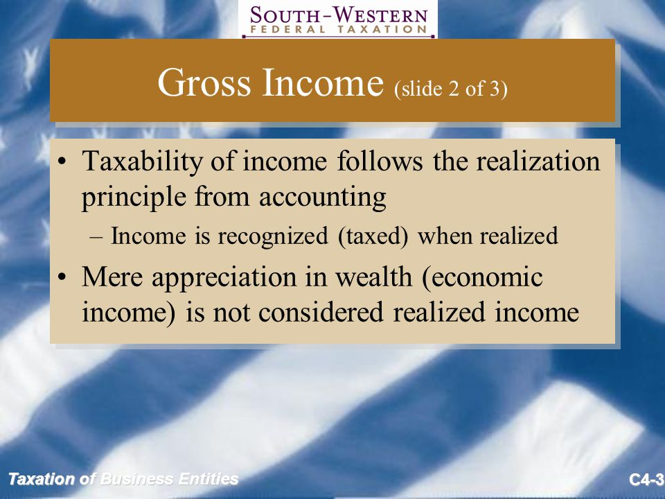 Gross Income (slide 2 of 3)