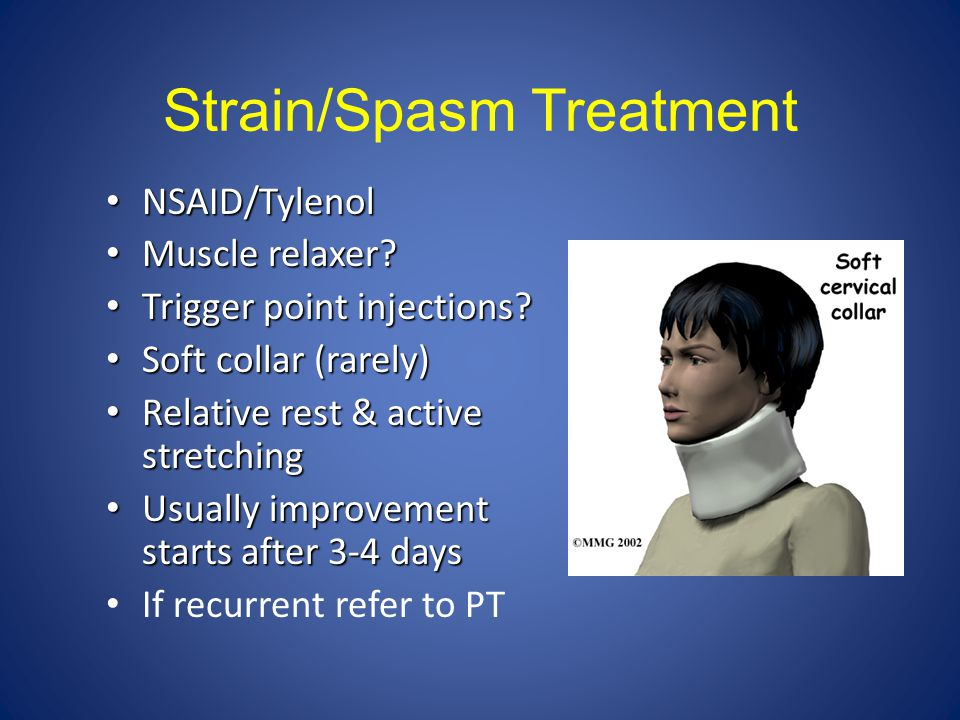Strain/Spasm Treatment