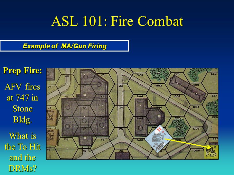 Example of MA/Gun Firing