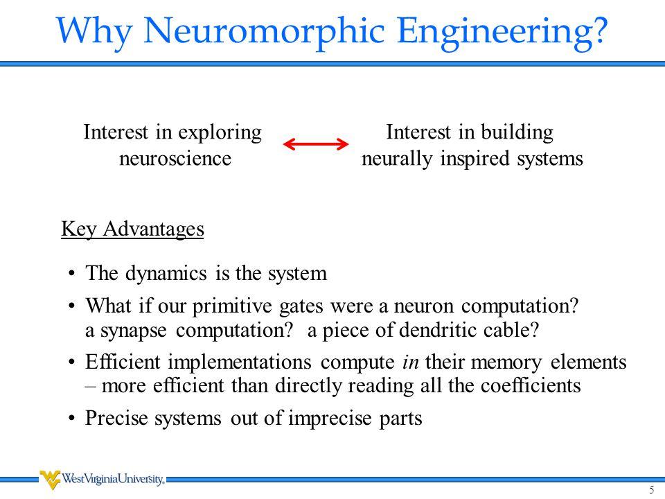 Why Neuromorphic Engineering