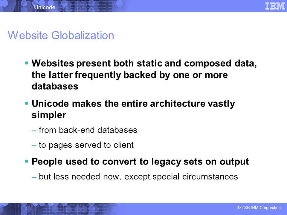 Website Globalization