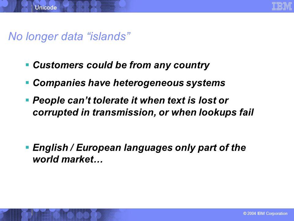 No longer data islands