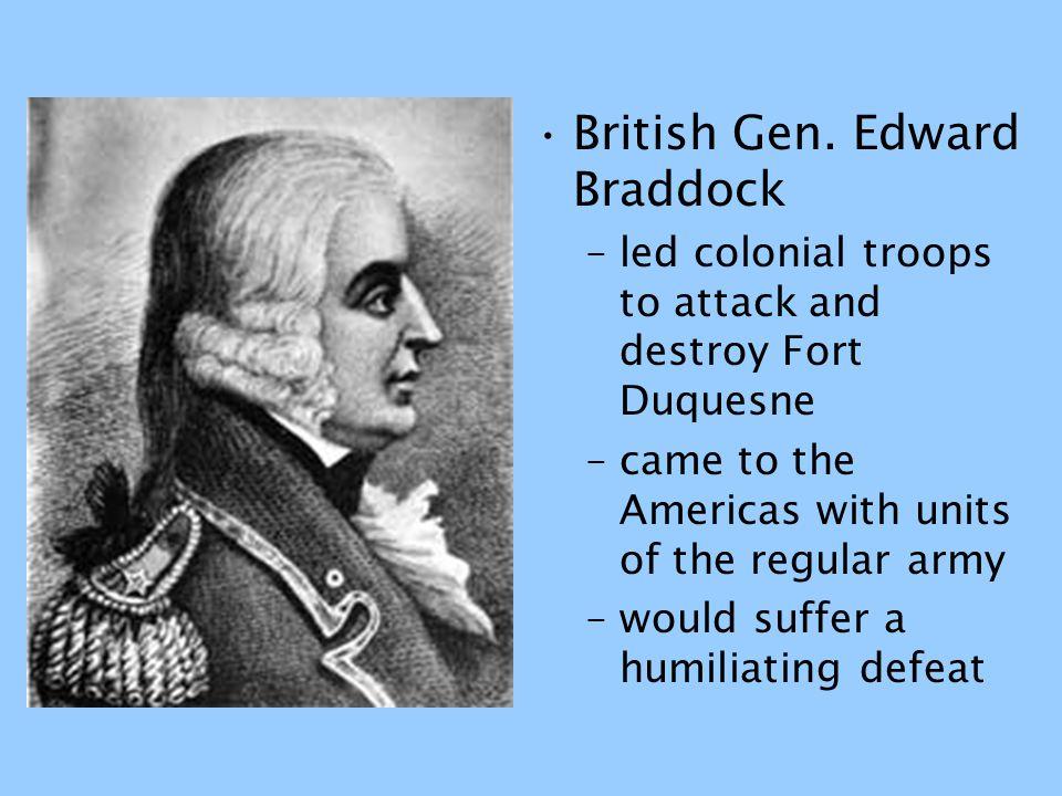 British Gen. Edward Braddock