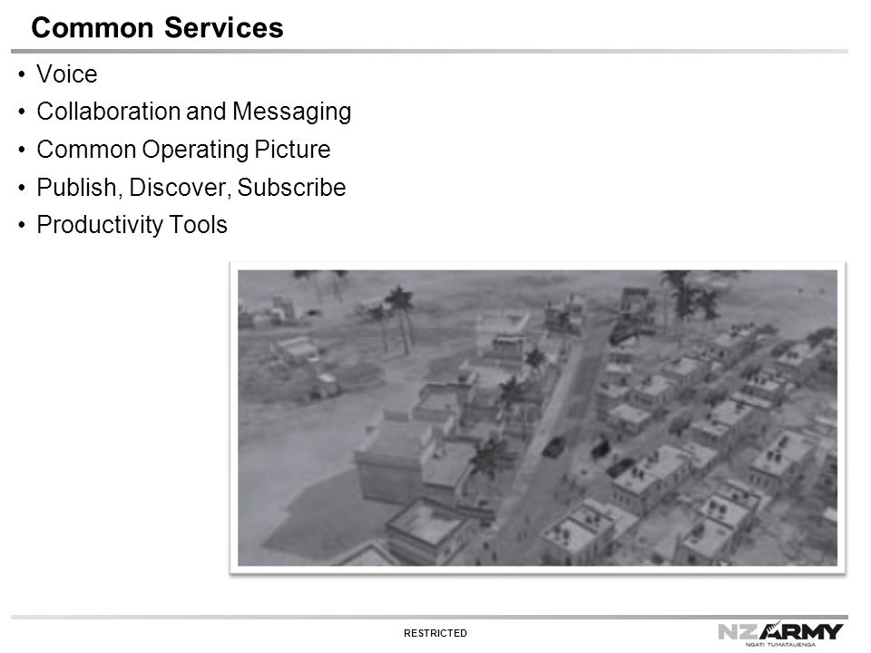 Common Services Voice Collaboration and Messaging