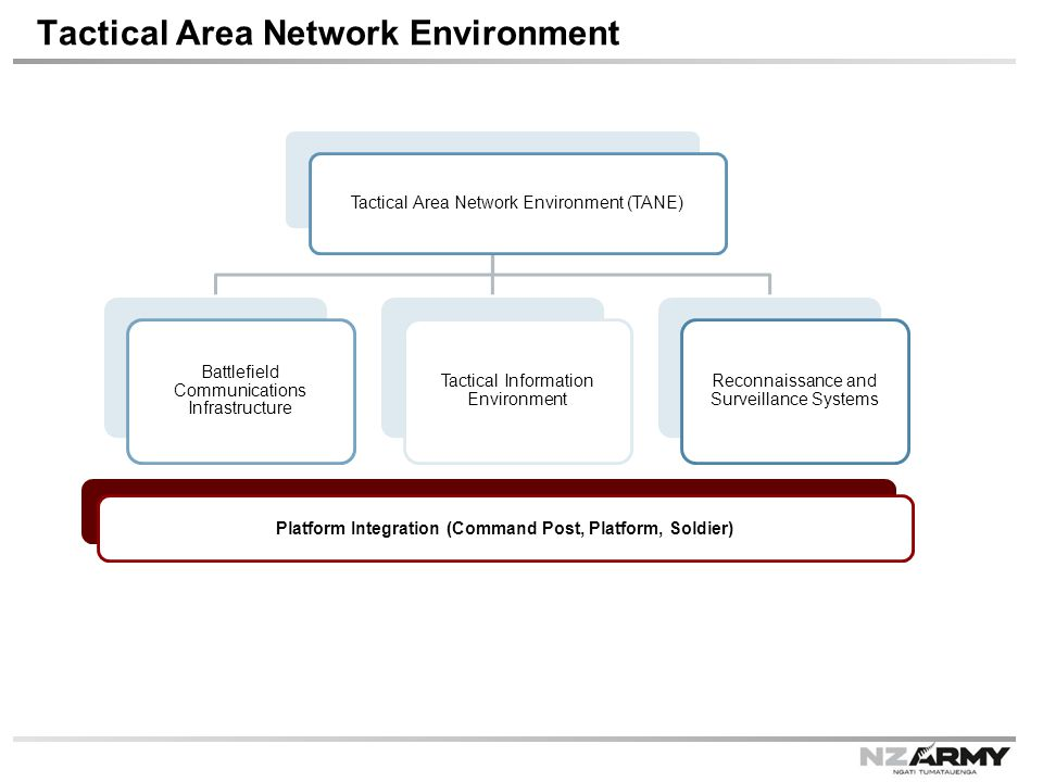 Tactical Area Network Environment