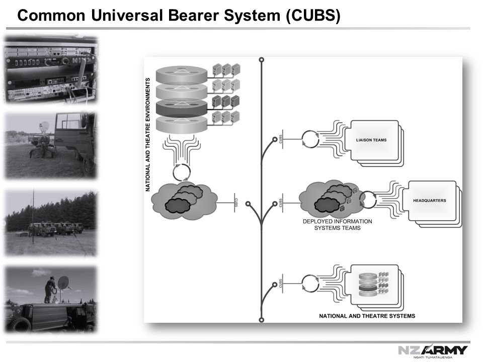 Common Universal Bearer System (CUBS)