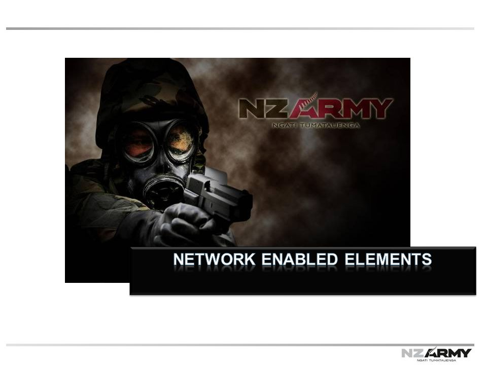 Network enabled elements