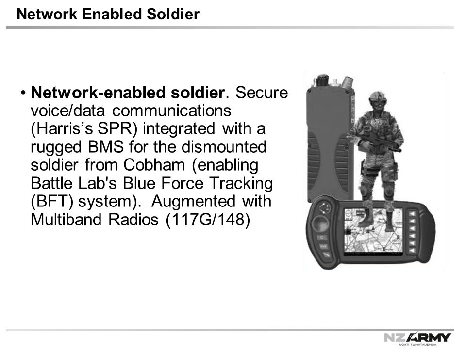 Network Enabled Soldier