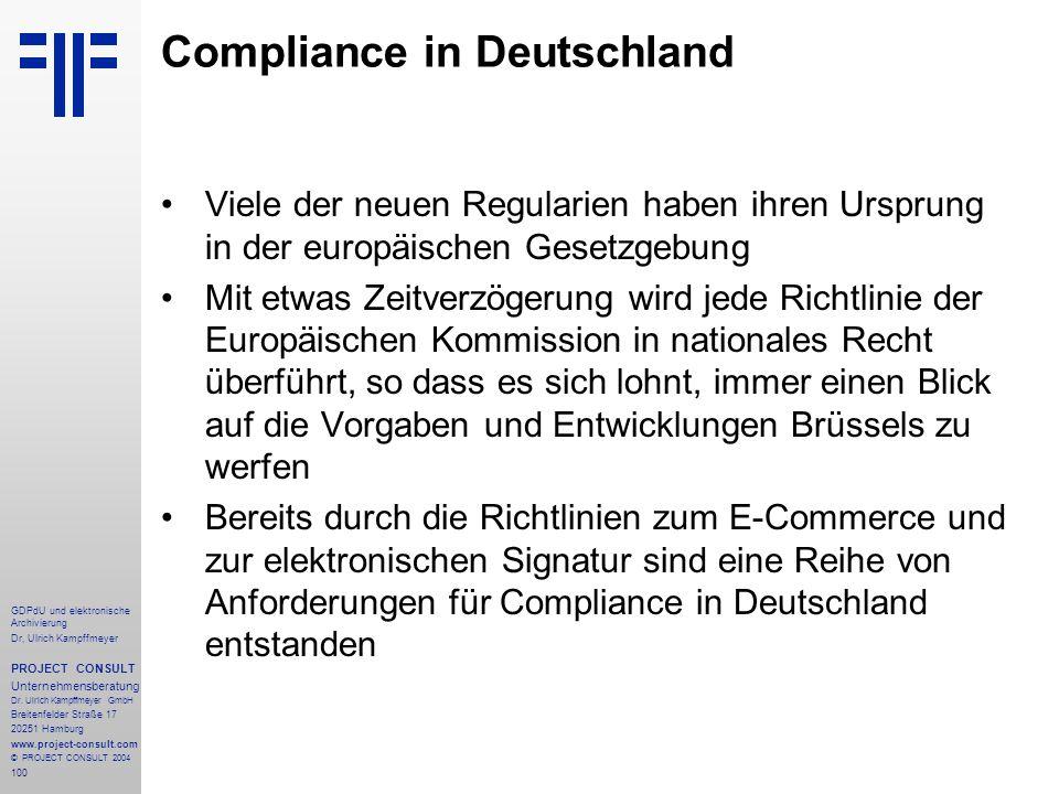 Compliance in Deutschland